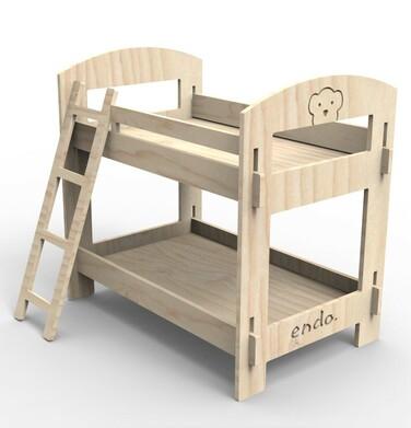 Endo - Misiowe łóżko piętrowe SMM015_1,3
