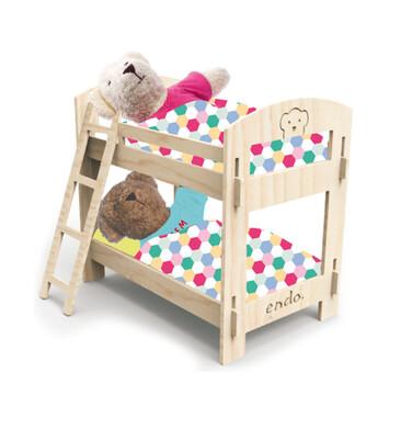 Endo - Misiowe łóżko piętrowe SMM015_1