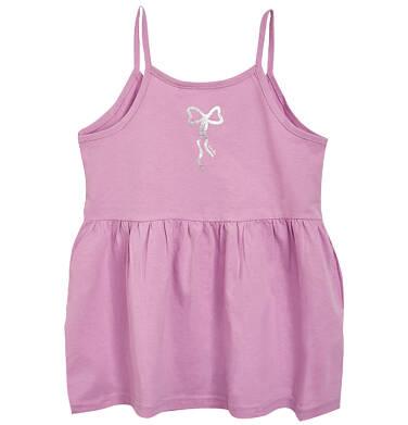 Endo - Top na ramiączkach dla dziewczynki 9-13 lat D81G078_3