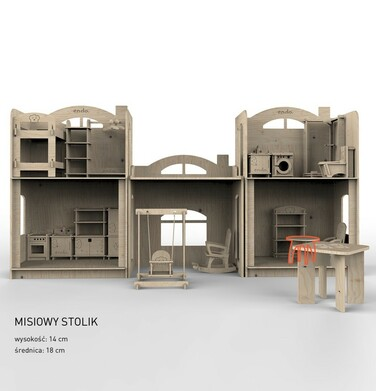 Endo - Misiowy stolik SMM016_1,2