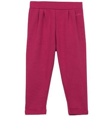 Endo - Spodnie dresowe z zakładkami dla niemowlaka N62K002_1