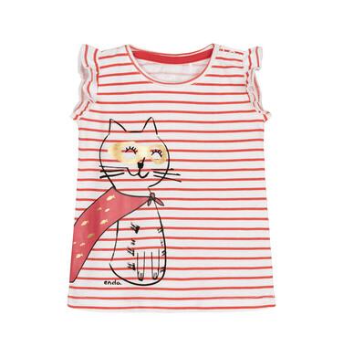 T-shirt z krótkim rękawem dla dziecka 0-3 lata N91G053_1