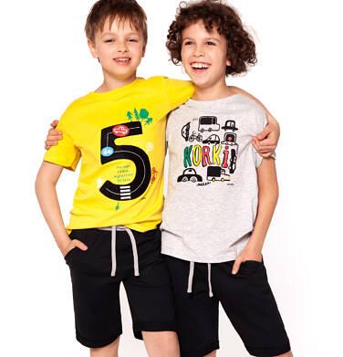 Endo - Krótkie spodenki dresowe dla chłopca 3-8 lat C91K023_3