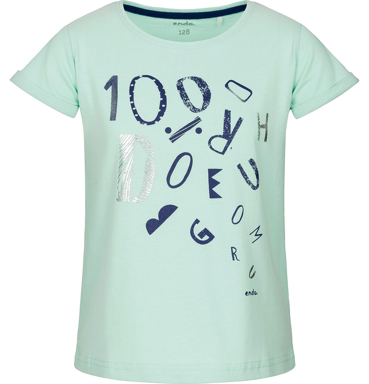 Endo - T-shirt z krótkim rękawem dla dziewczynki 9-13 lat D91G668_1