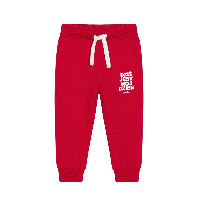 Endo - Spodnie dresowe dla dziecka 0-3 lata N92K020_3