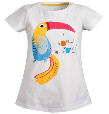 Endo - T-shirt z krótkim rękawem dla dziewczynki 9-13 lat D81G581_1