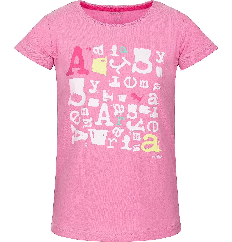 Endo - T-shirt z krótkim rękawem dla dziewczynki 3-8 lat D91G170_1