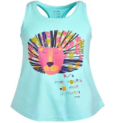 Endo - Top na ramiączkach dla dziewczynki 9-13 lat D81G582_1