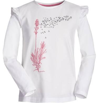 Endo - Bluzka z długim rękawem dla dziewczynki 3-8 lat D82G021_1