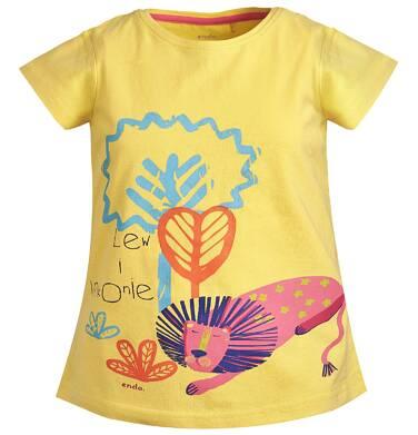 Endo - T-shirt z krótkim rękawem dla dziewczynki 3-8 lat D81G089_1