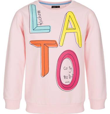 Bluza z długim rękawem dla dziewczynki 9-13 lat D91C503_1