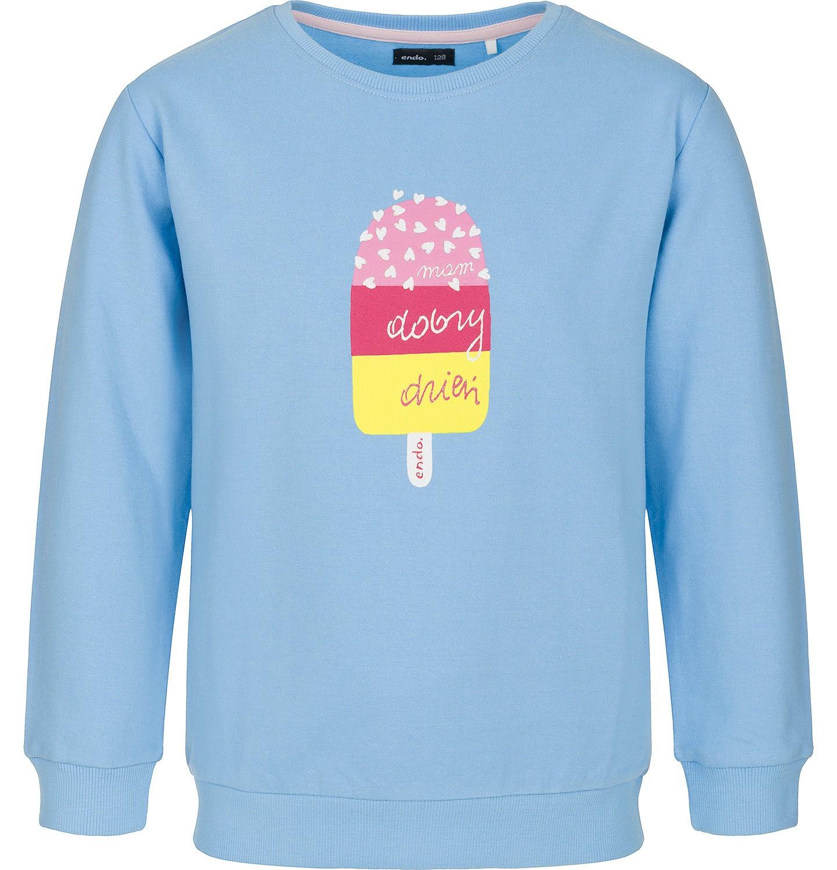 Endo - Bluza z długim rękawem dla dziewczynki 3-8 lat D91C004_1