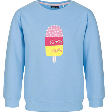 Bluza z długim rękawem dla dziewczynki 3-8 lat D91C004_1