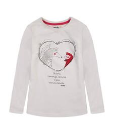 Endo - Bluzka z długim rękawem dla dziewczynki D52G117_1