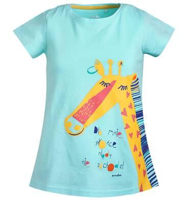 Endo - T-shirt z krótkim rękawem dla dziewczynki 3-8 lat D81G090_1