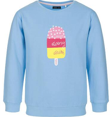 Bluza z długim rękawem dla dziewczynki 9-13 lat D91C504_1