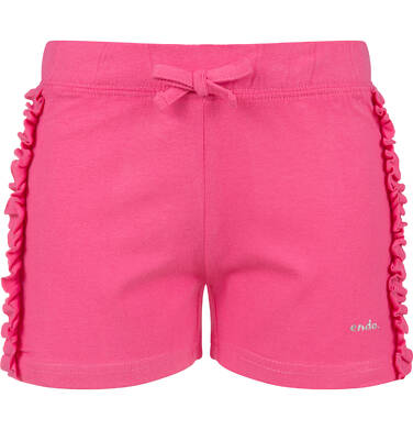 Endo - Krótkie spodenki dla dziewczynki, różowe, 2-8 lat D03K034_1 211