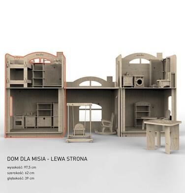 Endo - Dom dla Misia, lewa strona SMM027_1,3