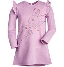 Endo - Sukienka z motylkami przy ramionach dla dziewczynki 3-8 lat D72H067_1