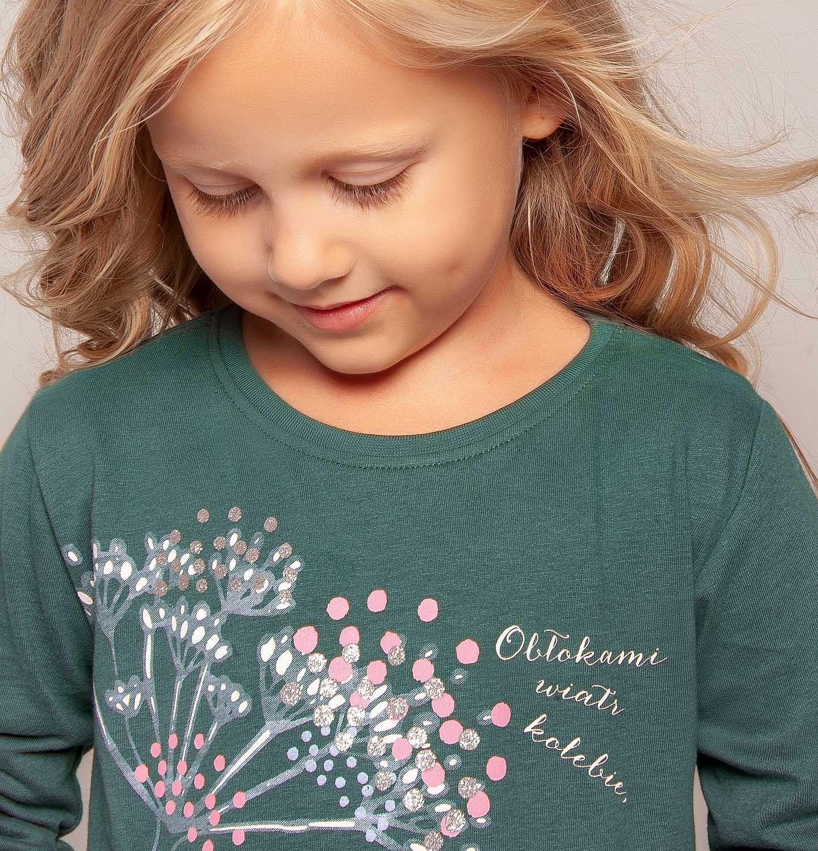 Endo - Bluzka z długim rękawem dla dziewczynki 3-8 lat D82G026_1