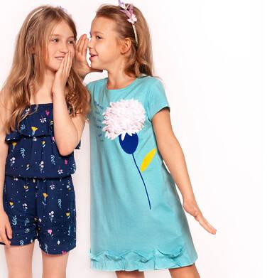 Endo - Sukienka z krótkim rękawem dla dziewczynki 3-8 lat D91H044_1