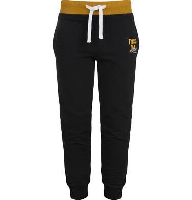 Endo - Spodnie dresowe dla chłopca, czarne, 9-13 lat C03K545_4 9