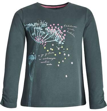 Endo - Bluzka z długim rękawem dla dziewczynki 9-13 lat D82G526_1