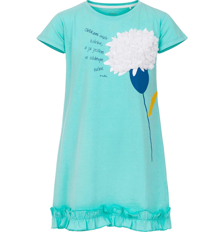 Endo - Sukienka z krótkim rękawem dla dziewczynki 9-13 lat D91H544_1