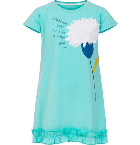8c2e893b9c54e1 Endo - Sukienka z krótkim rękawem dla dziewczynki 9-13 lat D91H544_1. ‹ ›