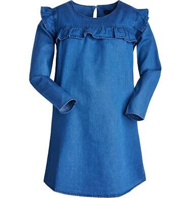 Sukienka z długim rękawem dla dziewczynki 9-13 lat D82H510_1