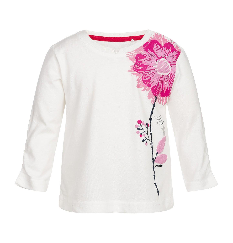 Endo - T-shirt z długim rękawem dla dziecka 0-3 lata N82G039_1