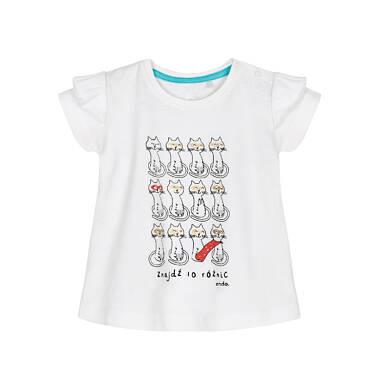 T-shirt z krótkim rękawem dla dziecka 0-3 lata N91G054_1