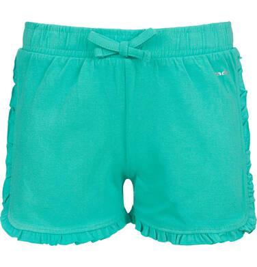 Krótkie spodenki dla dziewczynki, zielone, 9-13 D03K537_1