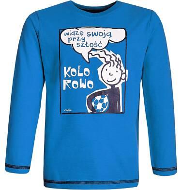 """Endo - """"Widzę swoją przyszłość kolorowo"""" T-shirt z długim rękawem dla chłopca 3-8 lat C82G078_2"""