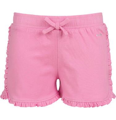 Endo - Krótkie spodenki dla dziewczynki, różowe, 2-8 lat D03K037_2