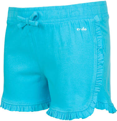 Endo - Krótkie spodenki dla dziewczynki, niebieskie, 2-8 lat D03K037_3,2