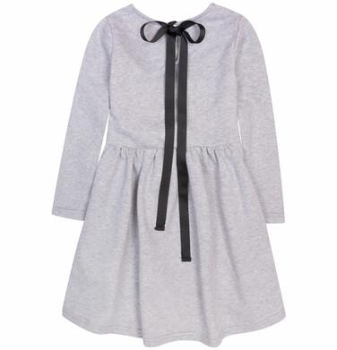 Endo - Sukienka z podwyższoną talią i wstążką dla dziewczynki 9-13 lat D72H565_1