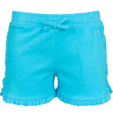 Krótkie spodenki dla dziewczynki, niebieskie, 9-13 lat D03K537_3
