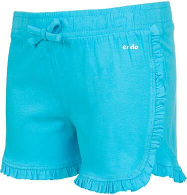 Endo - Krótkie spodenki dla dziewczynki, niebieskie, 9-13 lat D03K537_3 195