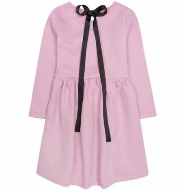 Endo - Sukienka z podwyższoną talią i wstążką dla dziewczynki 9-13 lat D72H565_2