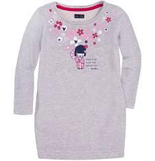 Endo - Sukienka o charakterze bluzy dla dziewczynki 3-8 lat D72H049_1