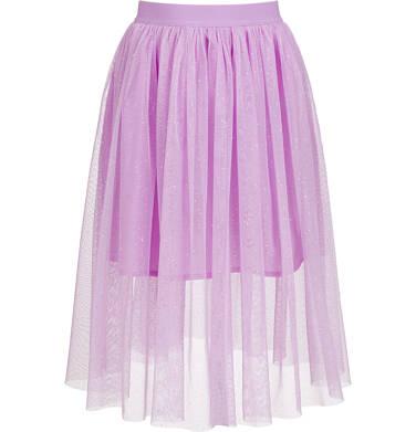 Endo - Tiulowa, długa spódnica, z gumką w pasie, różowa, 9-13 lat D03J504_1,1