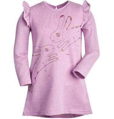 Endo - Sukienka z motylkami przy ramionach dla dziewczynki 9-13 lat D72H567_1