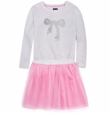 Endo - Sukienka z tiulowym dołem i brokatem dla dziewczynki 9-13 lat D72H568_1