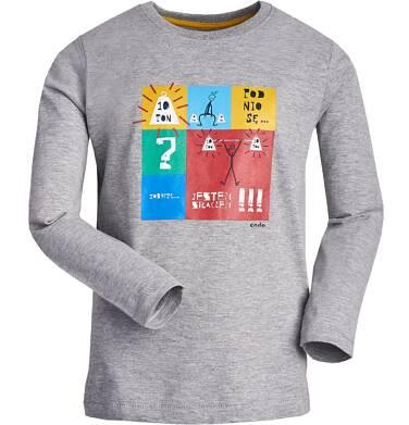 T-shirt z długim rękawem dla chłopca 9-13 lat C82G579_1