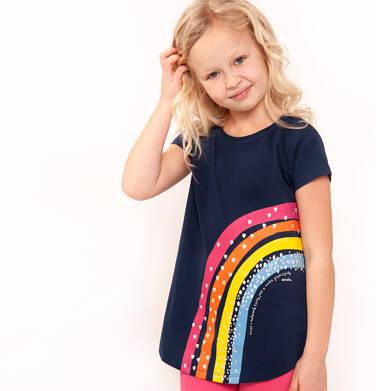 Endo - Bluzka z krótkim rękawem dla dziewczynki 9-13 lat D91G512_1