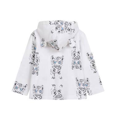 Endo - Bluza rozpinana z kapturem dla dziecka do 2 lat, deseń w tygrysy N03C016_1 26