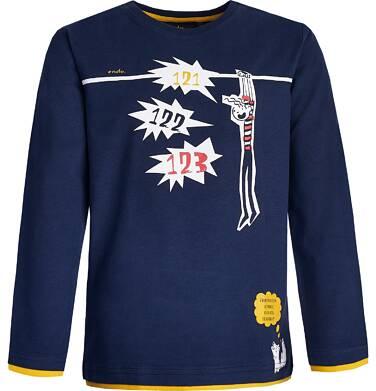 Endo - T-shirt z długim rękawem dla chłopca 9-13 lat C82G585_1