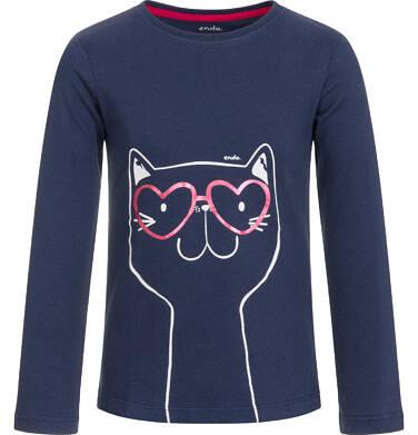 Endo - T-shirt z długim rękawem dla dziewczynki 9-13 lat D92G557_2 34
