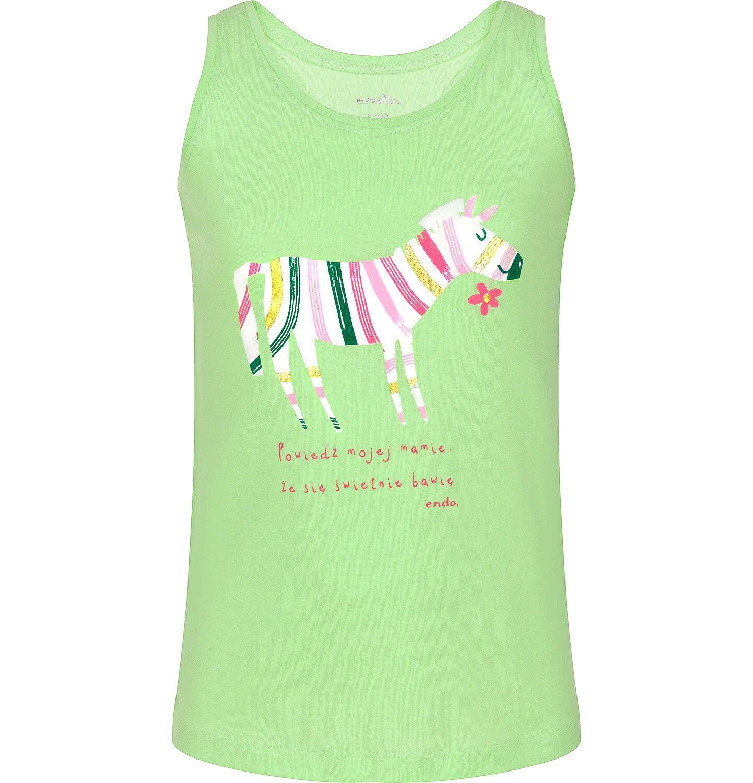 Endo - Top na ramiączkach dla dziewczynki 3-8 lat D91G097_2